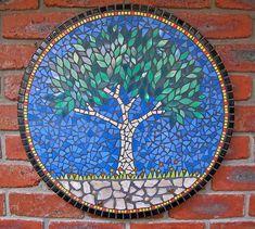 DavRah Mosaics - Mosaic Tree, could make a nice mosaic table top too.