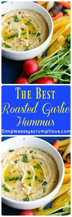 Roasted Garlic Hummu