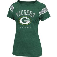 Women's Green Bay Packers Full Blitz Raglan T-Shirt - NFLShop.com