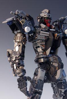 - Painted Build Modeled by RedBrick Gunpla Custom, Custom Gundam, Anime Couples Manga, Cute Anime Couples, Anime Girls, Strike Gundam, Frame Arms, Gundam Model, Neon Genesis Evangelion