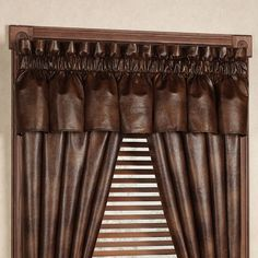 Austin Faux Leather Window Treatment