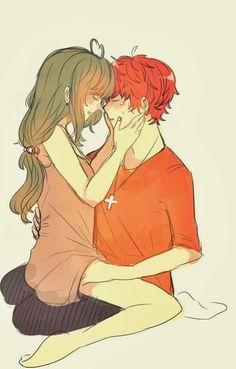 Anime Couples mystic messenger and luciel choi 이미지 - Anime Love Couple, Cute Anime Couples, Anime Kiss, Anime Manga, Image Couple, Luciel Choi, Mystic Messenger Game, Latest Anime, Saeran