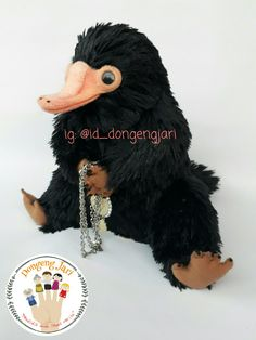 Niffler soft toy , from Fantastic Beast And Where To Find Them. Price: $15 (not including shipping). Shipping from Indonesia. Pre-order.  Check more my instagram: @id_dongengjari