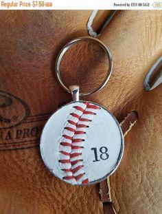 a748a15ea SALE Baseball Key Ring, Personalized Key Ring, Personalized Baseball Key  Ring, Baseball Team