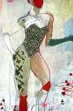 ylian Gustlin's Stitched Artwork