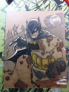 The Dark Knight Returns by Hodges-Art.deviantart.com on @deviantART