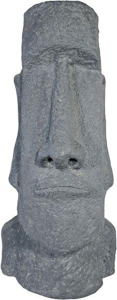 Diese imposante Dekofigur von Home affaire ist ein Abbild einer der riesigen, steinernen Köpfe die auf der Osterinsel zu bestaunen sind. Mit einer Höhe von ca 63 cm zieht auch diese Deko-Statue alle Blicke auf sich. Die Figur ist aus wetterbeständigem Kunststein (Polyresin) gefertig und eignet sich als Dekoration für den Innen- und Außenbereich. Holen Sie sich einen Hauch von mystischem Südseef...