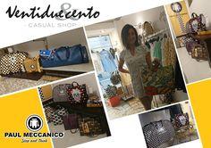 """Fortunatamente ci sono ancora negozi che cercano merce completamente realizzata in Italia. 🇮🇹 Ventidueecento Casual Shop è uno di questi e noi di Paul Meccanico siamo, con orgoglio, tra gli """"italian brands"""" da loro proposti. Visitatelo! Lo trovate a Como in Via Cantù Cesare, 34."""