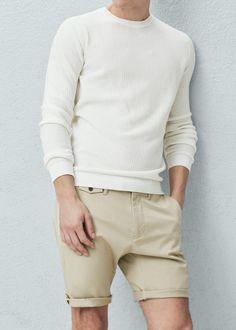 Bermudas algodón | MANGO MAN