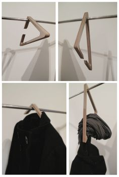 Triangle hanger. Plywood.
