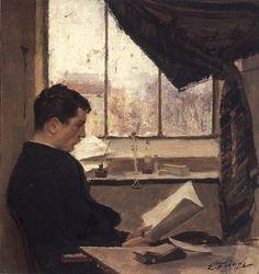Emile Friant - Autoportrait, 1885