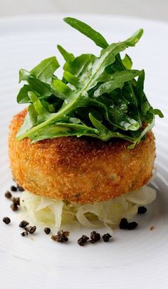 This salmon fish cake recipe from Chris Horridge is well-flavoured with the inclusion of vinegary capers and tangy lime. Salmon Recipes, Fish Recipes, Seafood Recipes, Cooking Recipes, Cooking Videos, Kitchen Recipes, Great Recipes, Fish Cakes Recipe, Cake Recipes
