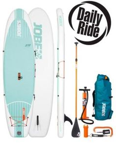 JOBE Aero SUP Yoga 10.6 Set - Inflatable Stand Up Paddle Board in Dießen