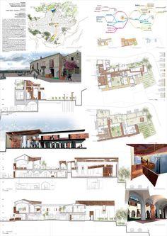 impaginazione tavole concorso architettura - Cerca con Google