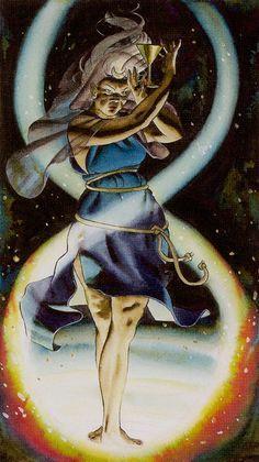 High Priestess - Initiator Tarot of the Golden Dawn