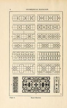 rhythm of ornament...A handbook of ornament;