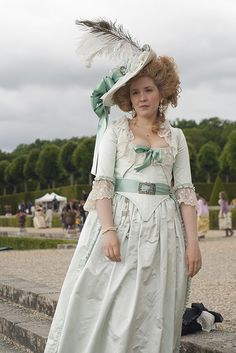 Journée Grand siècle - Château de Vaux le Vicomte Another not-a-francaise--but lovely color and overall look