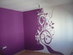 More paint charm Creative Wall Painting, Creative Walls, Wall Drawing, Room Paint, Paint Designs, Textured Walls, Wall Design, Wall Murals, Wall Stickers