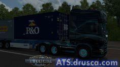 Scania RJL Borealis Limited Edition Skin American Truck Simulator