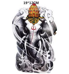 200 руб - временная татуировка слон, переводная татуировка, флеш тату, наклейка на тело