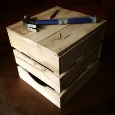 Hey, I found this really awesome Etsy listing at https://www.etsy.com/listing/175647846/diy-rustic-wooden-crate-kit-from