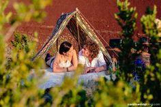 Mariage | Séance engagement Lac du Salagou