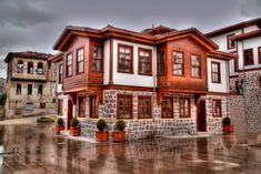 Old Ankara Houses by Mehmet Mesart on Turkish Architecture, Vernacular Architecture, Beautiful Architecture, Architecture Design, Ankara, Orient House, Arabic Decor, Sims House, Places Around The World