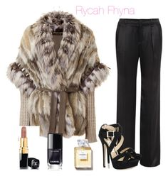 """Rocha Fhyna"" by rycah-fhyna on Polyvore featuring moda, Roberto Cavalli, Gucci, Jimmy Choo e Chanel"