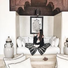 Can I please have this in my home? Love the Moroccan style!😍 Give it some love if you like it 😃 #marrakech #morocco #travel #holiday…