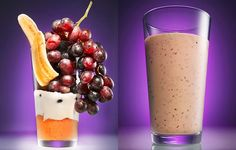 Peanut Butter and Grape Smoothie recipe