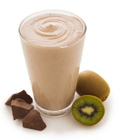 NutraStart Kiwi Kiss Cooler - Delight your taste buds with a fresh mix of kiwi and chocolate - 2 scoops NutraStart chocolate flavor 2 kiwis 4 ice cubes 1 cup almond or coconut milk Add above ingredients into blender, blend well, and enjoy!