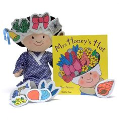 Mrs. Honey Book and Plush Set     This would be perfect for story retelling