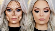 1. April 17, 2017 2. Brianna Fox, cream contour and highlight. 3. Youtube 4. Contouring for round faces