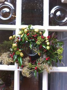 Made it!: A wreath is not just for Christmas