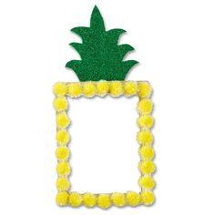 Style you space with this easy to make DIY Pineapple Pom Pom Locker Mirror Locker Crafts, Diy Locker, Locker Ideas, Luau Crafts, Preschool Crafts, Diy Crafts, Sunday School Crafts For Kids, Diy For Kids, Locker Mirror