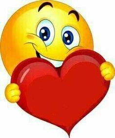 by Florynda del Sol ღ☀¨✿ ¸.ღ emoji heart Animated Smiley Faces, Emoticon Faces, Funny Emoji Faces, Animated Emoticons, Funny Emoticons, Smileys, Images Emoji, Emoji Pictures, Kiss Emoji