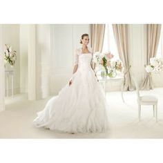 designer bridal gowns online shop , ULUA - Ever the Pretty , Only $266.99, #lace, #middlesleeve, #ballgown, #ruffles, #elegant, #weddinggown, #bridaldress, #bridalgown, #weddingdress, #wedding, #bridal, #gown, #dress