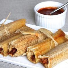 steamed tamales with salsa roja by A Sage Amalgam (Heather Sage), via Flickr gluten free / g free / gf
