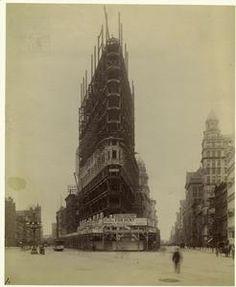 [Construction of Flatiron building, New York City.]