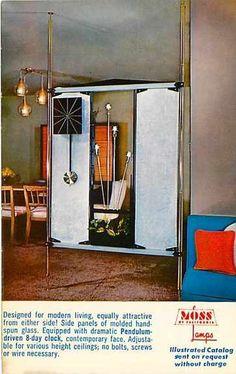 Moss Lamp Room Divider