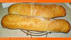 Kvásková ciabatta - Sefkuchari.sk Ciabatta, Hot Dog Buns, Bread, Food, Basket, Cooking, Brot, Essen, Baking