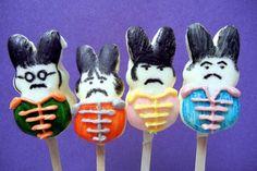 The Beatles Bunny Peep Pops · Edible Crafts | CraftGossip.com