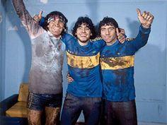 #BocaJuniors - 1981 - Gatti - #Maradona - Brindisi