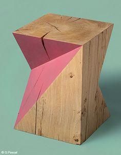 Cube - Déco : tendance géométrique ! - Elle Décoration