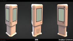 ArtStation - DOOM WC Clutter Props, Robert Hodri