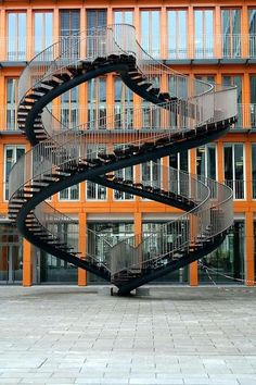 Spiral stairs. I want to run up them. And then down. And then back up...and then down. Without stopping. EVER.