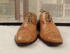 1f58a6a03d8 Men s Barker Flex Tan Short Wingtips Size 9.5 F UK 10 D USA  fashion   clothing  shoes  accessories  mensshoes  dressshoes (ebay link)