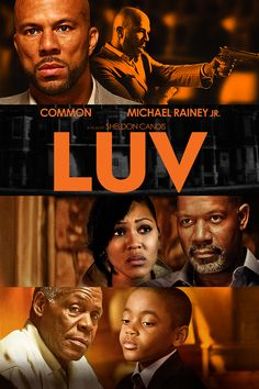 """LUV"" This indie drama portrays a single day shared by an 11-year-old boy and his uncle, who's recently rejoined the world after eight years in prison. When the older Vincent brings young Woody along on business, fresh lessons in life await them both. ""LUVED"" this movie. Common does a knock out job. It moves pretty fast so try to keep up!"