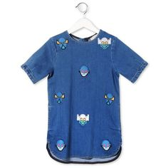 Denim SuperStellaheroes Bess Dress - Stella McCartney Kids Online - Kinderkleding Webshop Goldfish.be