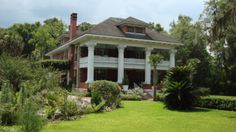 The historic Herlong Mansion in Micanopy, Florida is a comfortable bed and breakfast inn.